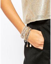 ALDO - Metallic Tunisia Bracelet Multipack - Lyst