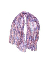 Michael Stars | Pink Snake Charmer Scarf | Lyst