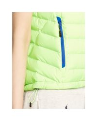 Ralph Lauren - Green Explorer Down Vest - Lyst