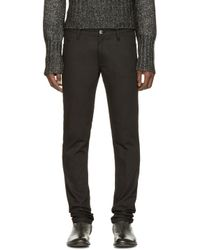 Ann Demeulemeester | Black Skinny Jeans for Men | Lyst