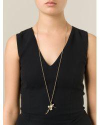 Shaun Leane - Metallic 'cherry Blossom' Topaz Long Pendant Necklace - Lyst
