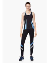 Mango - Black Fitness & Running - Technical Racerback T-shirt - Lyst