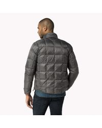 Tommy Hilfiger | Gray Padded Lightweight Jacket for Men | Lyst