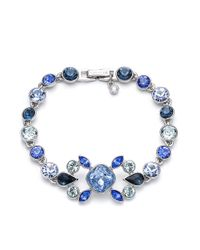 Givenchy | Blue Stone Flex Bracelet | Lyst