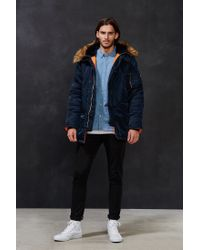 Alpha Industries | Blue N-3b Slim-fit Jacket for Men | Lyst