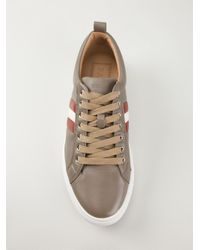 Bally - Natural 'Hendris' Sneakers for Men - Lyst