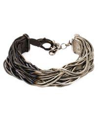 Iosselliani - Metallic Shaded Bracelet - Lyst