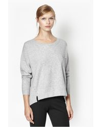 French Connection | Gray Clacton Vhari Jumper | Lyst