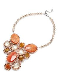 Nakamol | Multicolor Pippa Necklace-carnelian Mix | Lyst