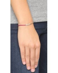 Shashi - Metallic Sam Bracelet - Purple Multi - Lyst