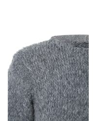 Dorothee Schumacher | Gray Be Different Pullover O-neck 1/4 | Lyst