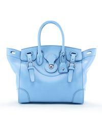 Ralph Lauren | Blue Soft Ricky Bag | Lyst