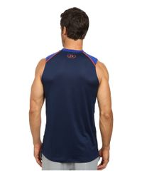 Under Armour - Blue Raid S/l Tee for Men - Lyst