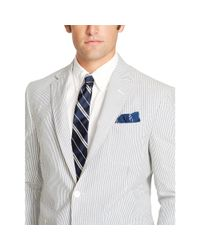 Polo Ralph Lauren - Blue Polo Seersucker Sport Coat for Men - Lyst