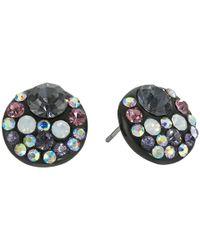 Betsey Johnson   Panther Purple Stud Earrings   Lyst