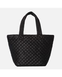 MZ Wallace - Medium Metro Tote Black Oxford - Lyst