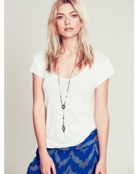Free People | Multicolor Double Layer Rosary | Lyst
