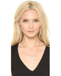 Maria Black - Pink 'alladin' Necklace - Lyst