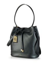 Ralph Lauren | Black Lauren Crossbody - Crawley Drawstring | Lyst