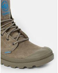 Palladium - Green Pampa Cuff Olive Boots - Lyst
