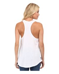 Hurley - White Solid Dri-fit™ Tank Top - Lyst