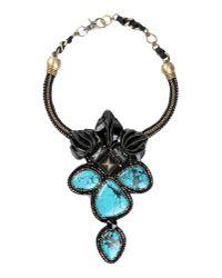Beavaldes - Black Necklace - Lyst