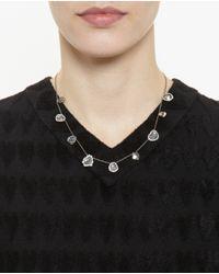 Kimberly Mcdonald | White Nine Diamond Slice Necklace | Lyst