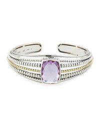 Lagos   Purple Prism Amethyst Large Cuff Bracelet   Lyst