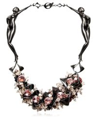 Heaven Tanudiredja | Pink Bavan For Death Princess Necklace | Lyst