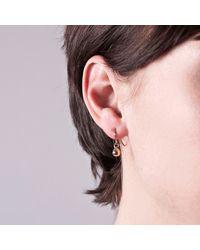 Edge Only - Metallic Teardrop Earrings Gold - Lyst