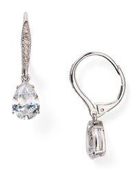Nadri | Metallic Teardrop Huggie Earrings | Lyst