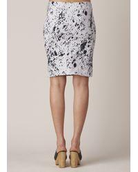 Anntian - Black Stone Mini Skirt - Lyst