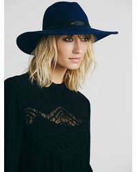 Free People | Black Womens Mock Neck Lace Pieced Tun | Lyst