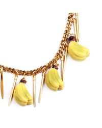 Lulu Frost - Yellow Banana Necklace - Lyst