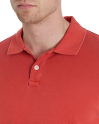 Jaeger | Red Plain Polo Regular Fit Polo Shirt for Men | Lyst
