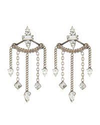 DANNIJO   Metallic Coley Earrings   Lyst
