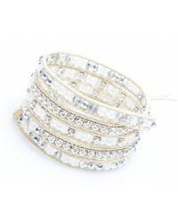 Nakamol | Multicolor Crucible Wrap Bracelet-moonstone | Lyst