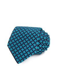 Ted Baker - Blue Cross With Diamond Center Classic Tie for Men - Lyst