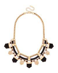 BaubleBar | Metallic Braided Tribal Collar | Lyst