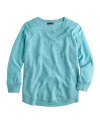 J.Crew - Blue Merino Swing Sweater - Lyst