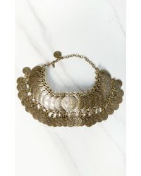 Natalie B. Jewelry | Metallic Cyprus Bazaar Choker | Lyst