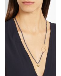 Inez & Vinoodh - Blue Sapphire And Ruby Necklace - Lyst