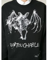 McQ - Black Untouchable Print Sweatshirt for Men - Lyst