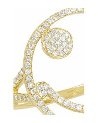 Rosa De La Cruz - Metallic 18karat Gold Diamond Ring - Lyst