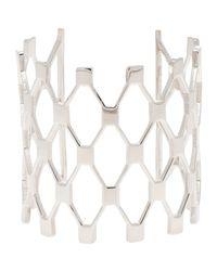 Jennifer Fisher - Metallic Net Cuff - Lyst