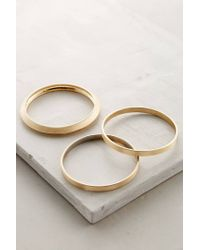 Anthropologie | Metallic Passage Bangles | Lyst