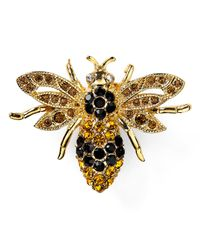 Carolee | Metallic Bee Pin | Lyst