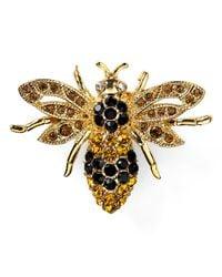 Carolee | Metallic Bee Pin | Lyst
