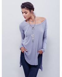 Free People | Blue We The Free Womens We The Free Ventura Thermal | Lyst