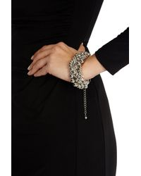 Coast | Metallic Twist Cluster Bracelet | Lyst